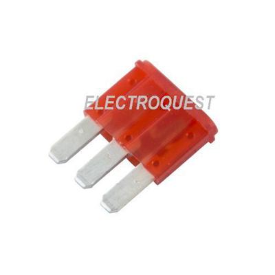 10a micro 3 blade fuse 3 pin blade 2 way micro mini fuse ebay