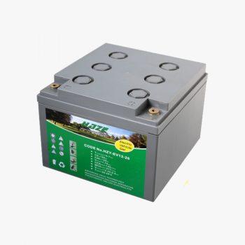 HZY-EV12-26 Pure Gel Battery 12V 26Ah