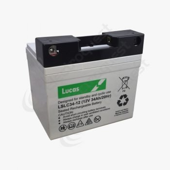 LSLC34-12G Lucas Golf Battery 12V 34Ah
