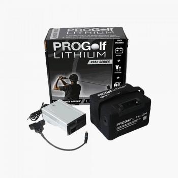 22ah 36 Hole Lithium Golf Battery PRGLIT-22