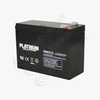 PAGM10-12 Platinum Sealed Lead Acid Battery 12V 10Ah (HGL10-12)