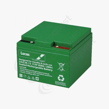 LSLC26-12 Lucas Battery 12V 26Ah