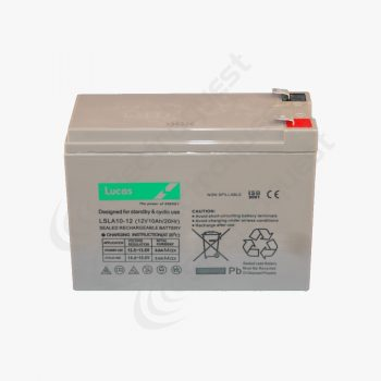 LSLA10-12 Lucas Sealed Lead Acid Battery 12V 10Ah