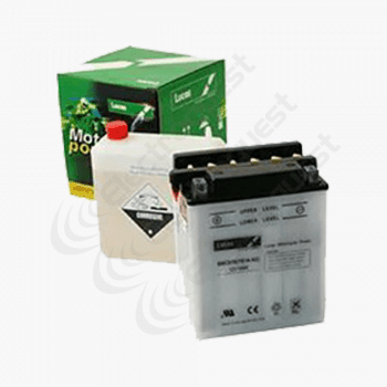 12N5.53B Lucas Motorcycle Battery 12V 5.5Ah