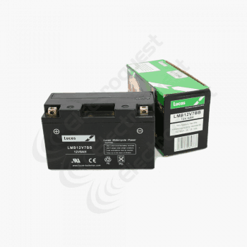6N42A4 Lucas Motorcycle Battery 6V 4Ah