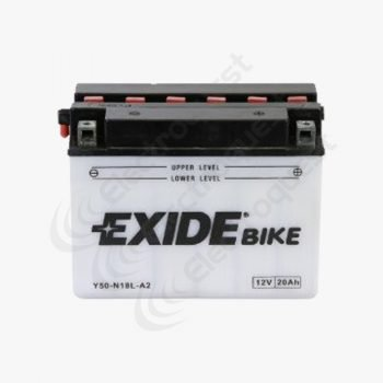 Y50N18LA2 Lucas Motorcycle Battery 12V 20Ah