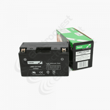 MB12V16CLB Lucas VRLA Motorcycle Battery 12V 21Ah