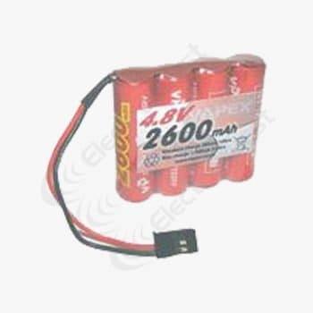 4.8V 2600mAh Flat Radio Control Receiver Battery Pack