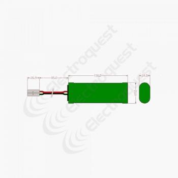 7.2V 4300mAh SC Battery Pack For Radio Control Car 3×2