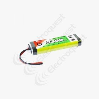7.2V 3300mAh SC Battery Pack For Radio Control Car 3×2