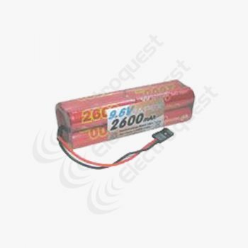 9.6V 2600mAh SC Battery Pack For Radio Control Receiver 4×2