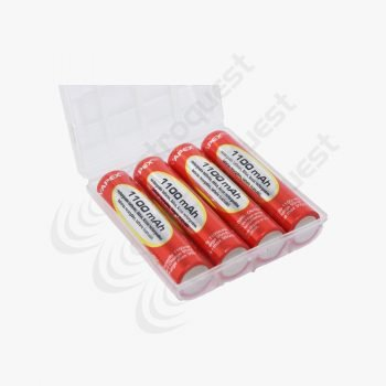 AAA Rechargeable Batteries 1100MAh NiMh PK4