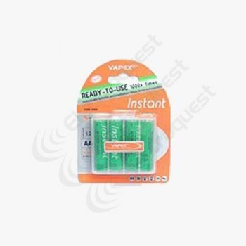 Vapex AA Instant Rechargeable Batteries 2100 MAh NiMh PK4
