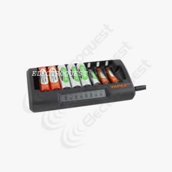 VAPEX VPE8000 Super Smart Fast Ni-Mh Ni-Cd AA/AAA Rechargeable Battery Charger