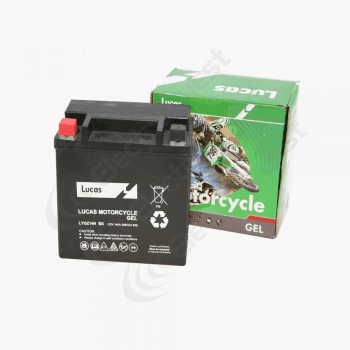 YGZ14HBS Lucas Motorcycle Battery 12V 14Ah