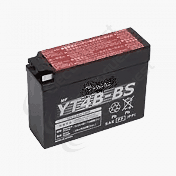 YT4BBS Lucas Motorcycle Battery 12V 2.5Ah