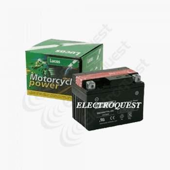 YT4LBS Lucas Motorcycle Battery 12V 3Ah