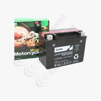 YTX15LBS Lucas Motorcycle Battery 12V 13Ah