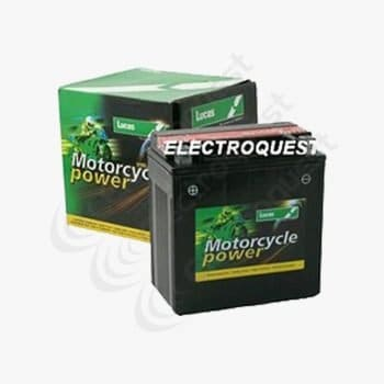 YTX16BS Lucas Motorcycle Battery 12V 14Ah