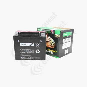 YTX20BS Lucas Motorcycle Battery 12V 18Ah