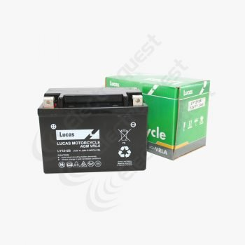 YTZ12S Lucas Motorcycle Battery 12V 11Ah