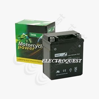 YTZ7BS Lucas Motorcycle Battery 12V 6Ah