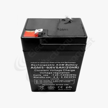 PAGM5-6a Platinum Toy Car And Bike Battery 6 Volt 5 Amp (HGL5-6a)