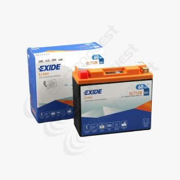 ELT12B Exide Li-Ion Lithium Motorcycle Battery 12V 5Ah