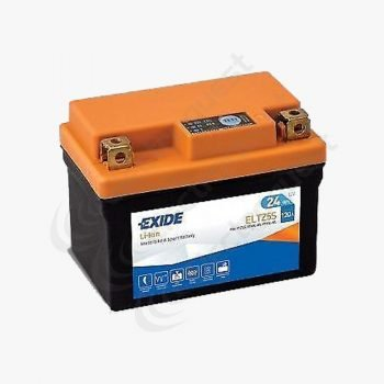 ELTZ5S Exide Li-Ion Lithium Motorcycle Battery 12V 24Ah