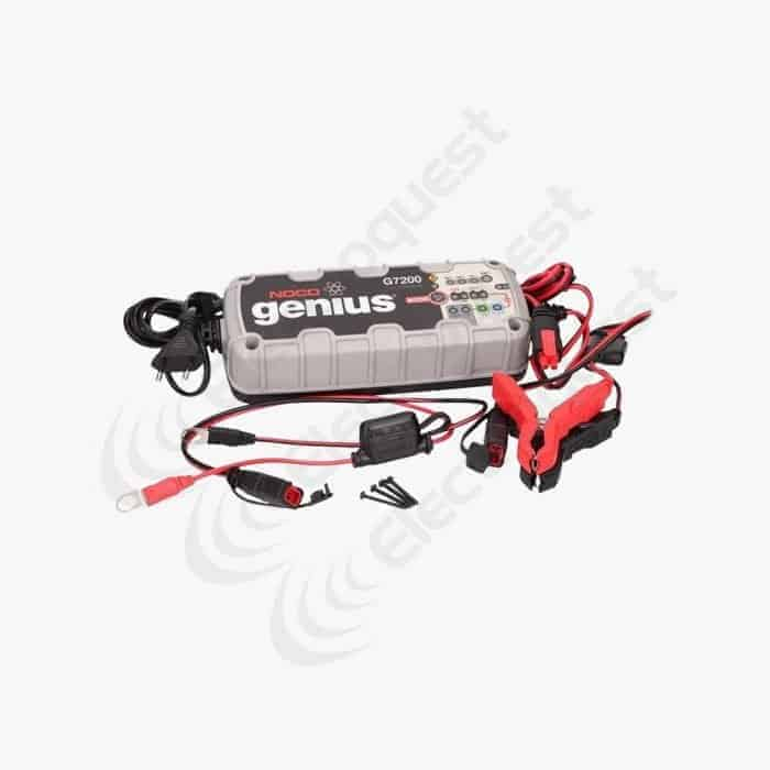 NOCO Genius UltraSafe Battery Charger G7200 7.2A @12V 3.6A @24V