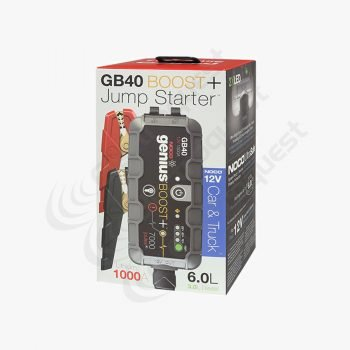 Gb40 Noco Genius Boost Plus, Battery Boost Pack And Battery Jump Start Pack
